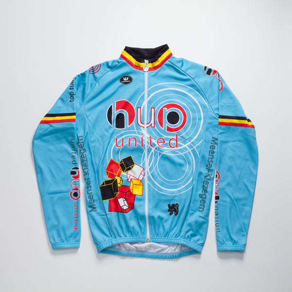 Men's Long Sleeve Jersey - Blue
