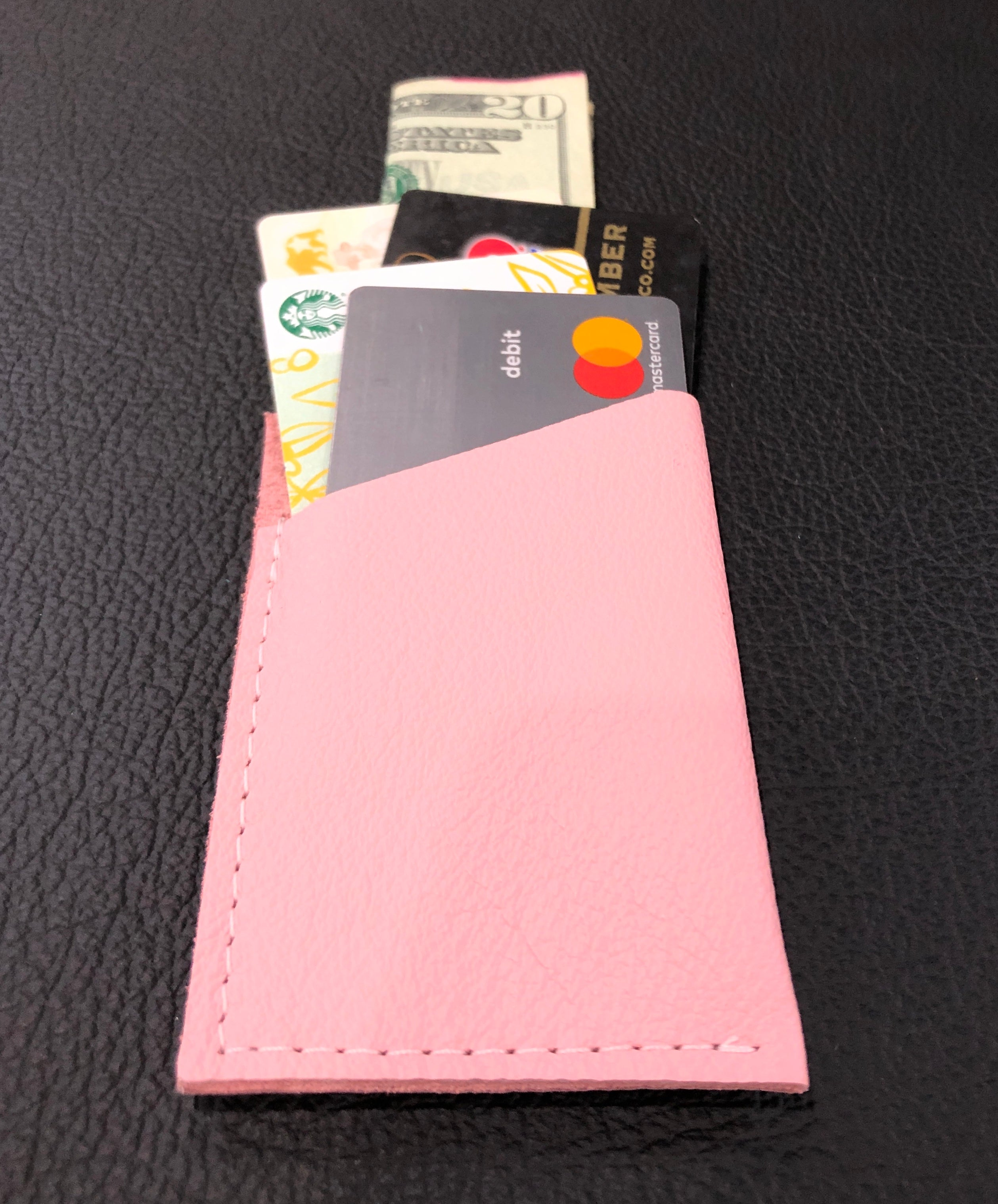 Baby Pink Single Wallet