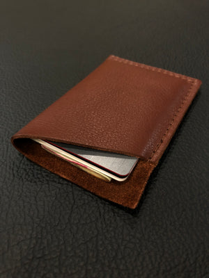 Brown Single wallet