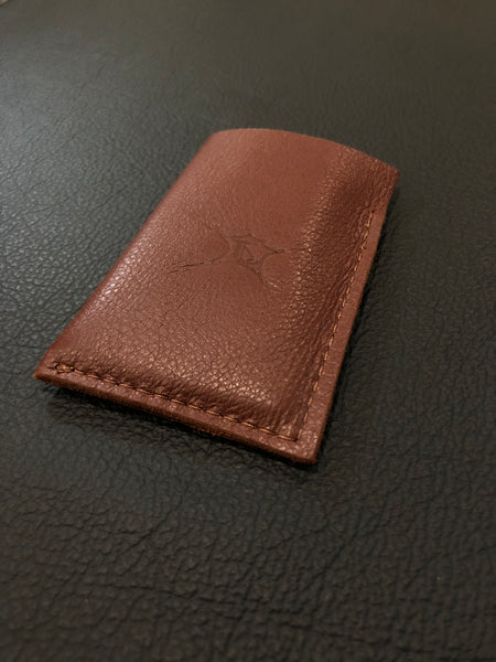 Brown Single Sleeve Wallet