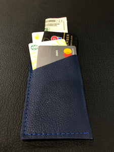 Blue Single Sleeve Wallet