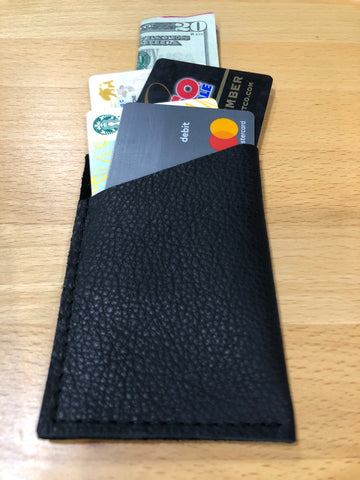 Black Single Sleeve Wallet