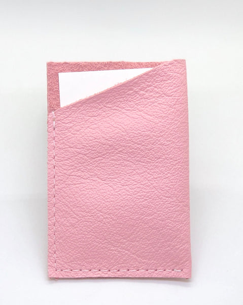 Baby Pink Single Sleeve Wallet
