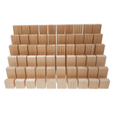 60 x Building Bricks - Pine Wooden Blocks