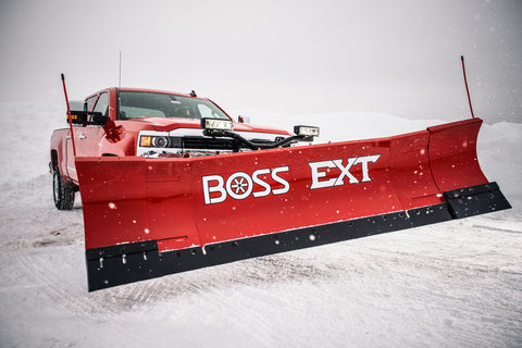 EXT 8'-10' Expandable BOSS Straight-Blade Plows - Snow Plow - BOSS - Hayden's Auto's Trucks & Equipment - 3