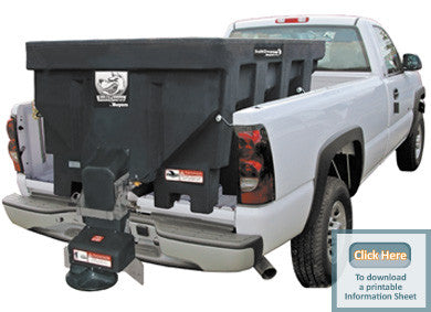 SHPE1500-SaltDogg Spreader 1.50 cu. yds Poly Hopper - Spreaders - Buyers - Hayden's Auto's Trucks & Equipment - 1