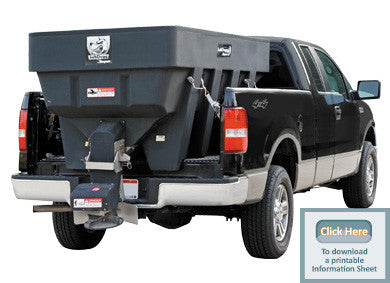 SHPE2000-SaltDogg Spreader 2.00 cu. yds Poly Hopper - Spreaders - Buyers - Hayden's Auto's Trucks & Equipment - 1