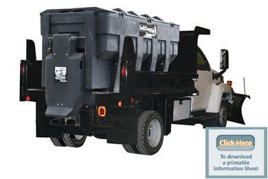 SHPE3000-SaltDogg Spreader 3.00 cu. yds Poly Hopper - Spreaders - Buyers - Hayden's Auto's Trucks & Equipment - 1