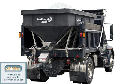 SHPE6000-SaltDogg Spreader 6.00 cu. yds Poly Hopper - Spreaders - Buyers - Hayden's Auto's Trucks & Equipment - 1