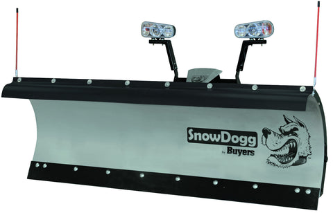 HD75-SnowDogg Snow Plow 7-1/2' HD Straight Blade - Snow Plow - Buyers - Hayden's Auto's Trucks & Equipment - 1