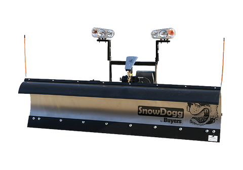 "MD68-SnowDogg Snow Plow 6'8"" Medium-Duty Straight Blade - Snow Plow - Buyers - Hayden's Auto's Trucks & Equipment - 1"