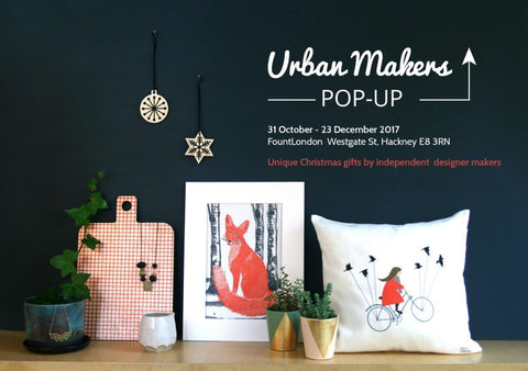 Urban Makers East Christmas Pop-up Shop at Fount London