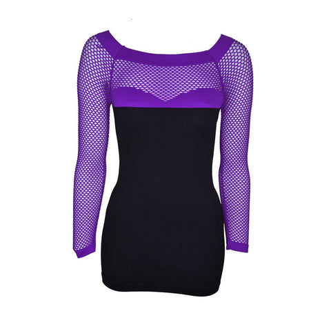 Poizen Industries Vira lila top - ZavtraShop - 1