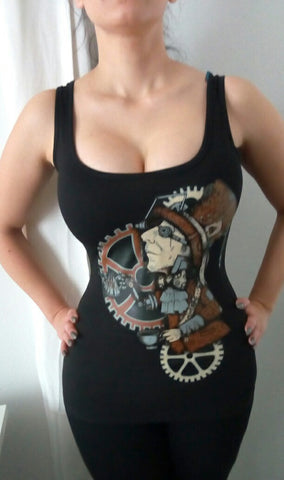 Restyle Steampunk top