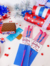 Fourth of July Sparkler Sleeves