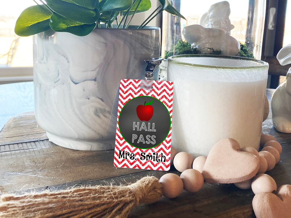 Apple Hall Passes (Set of 10)