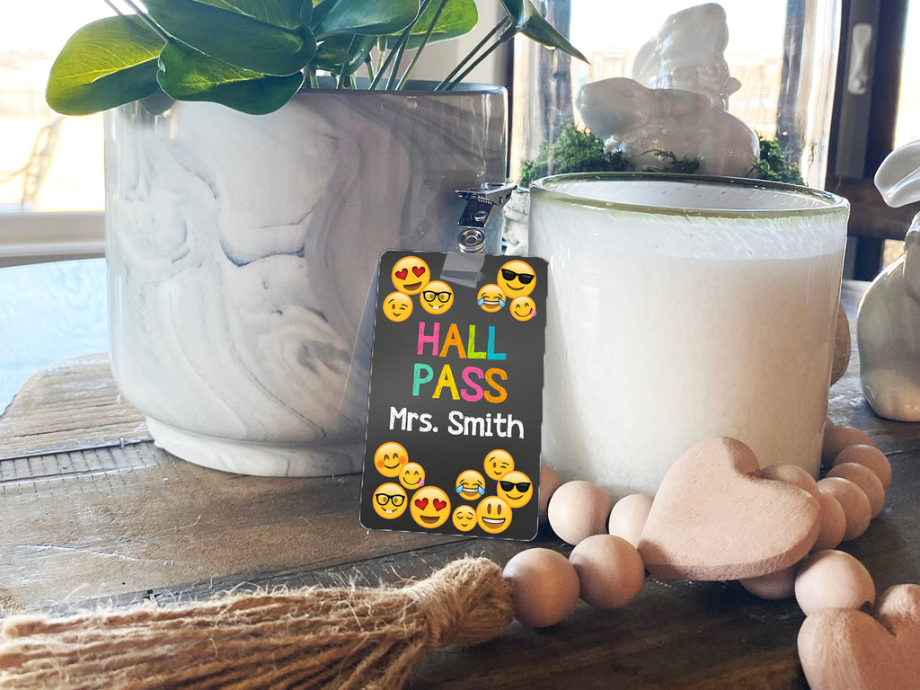 Emoji Hall Passes (Set of 10)