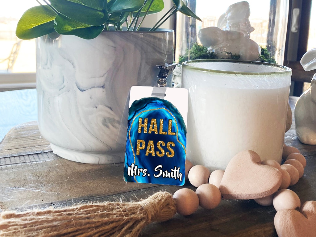 Geode Hall Passes (Set of 10)