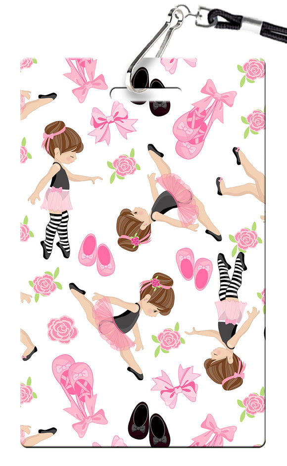 Ballet Birthday Invitation