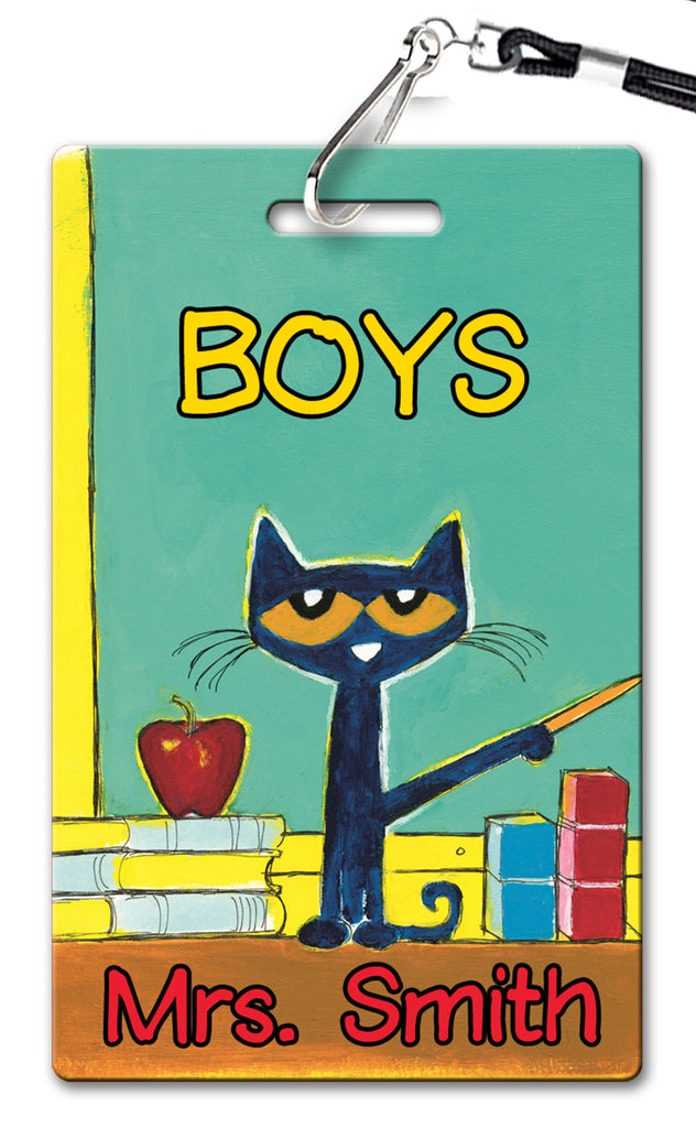 Pete the Cat Hall Passes (Set of 10)