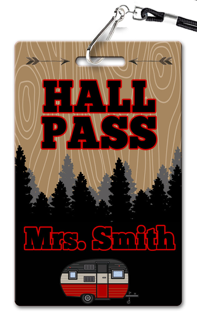Camper Hall Passes (Set of 10)