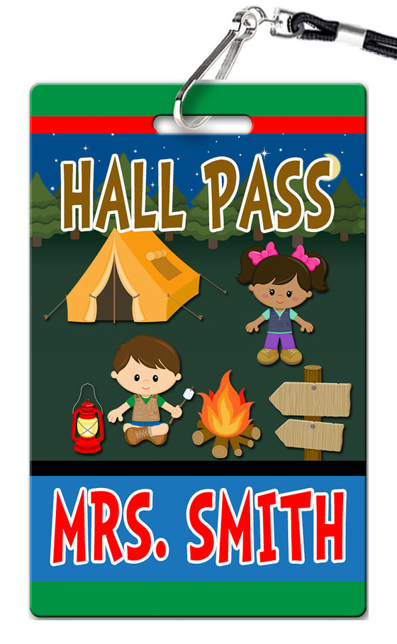 Camping Hall Passes (Set of 10)
