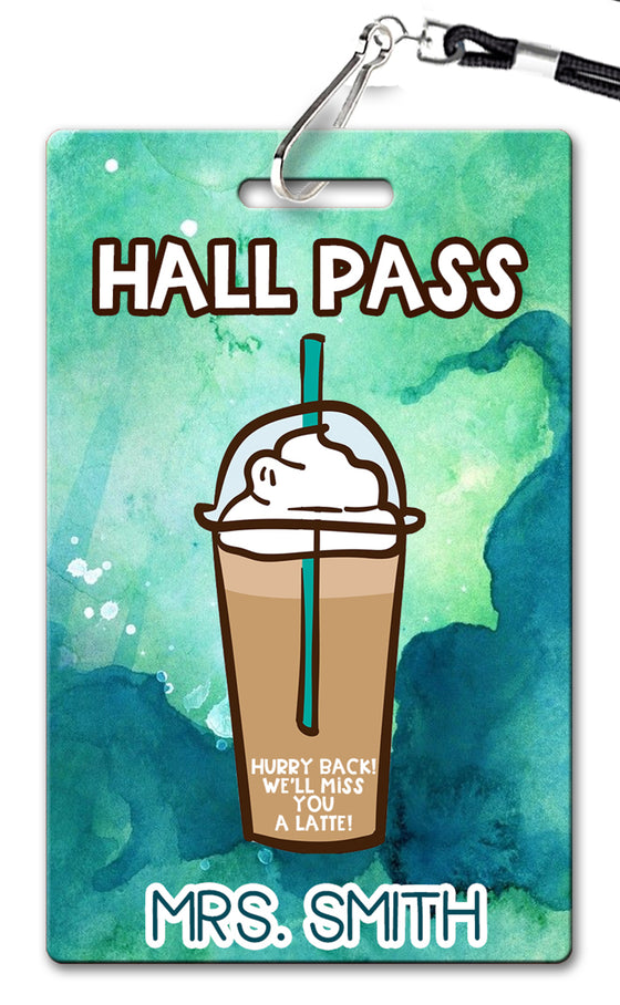 Coffee Hall Passes (Set of 10)