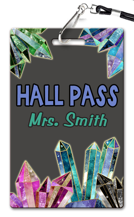 Crystals Hall Passes (Set of 10)