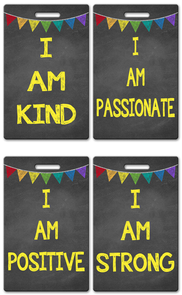 Five Foot One Teacher Brag Tags (Set of 8)