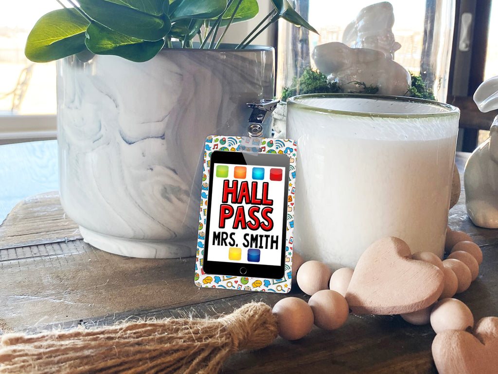 iPad Hall Passes (Set of 10)