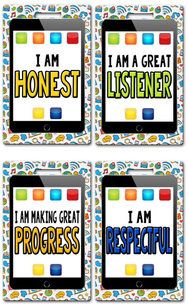 iPad Theme Brag Tags (Set of 8)