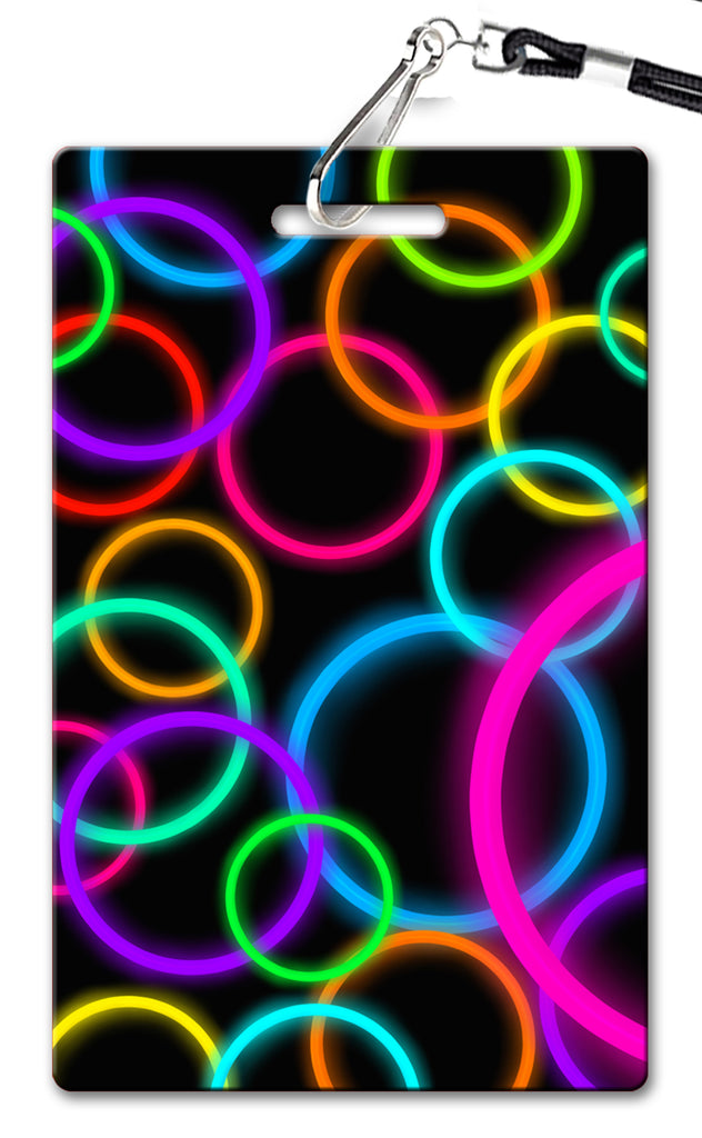 Neon Birthday Invitation