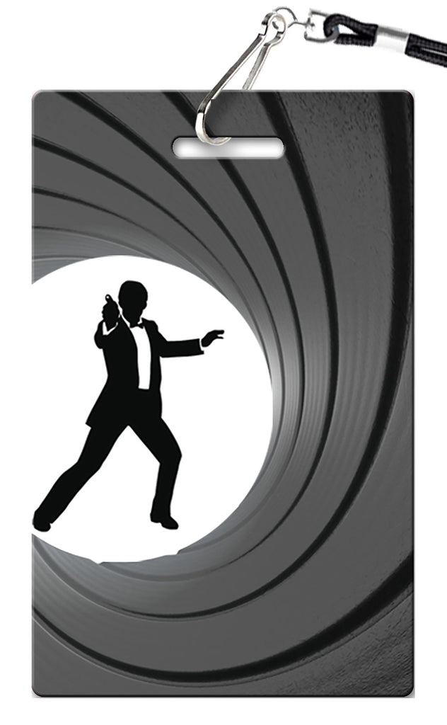 Secret Agent Birthday Invitation