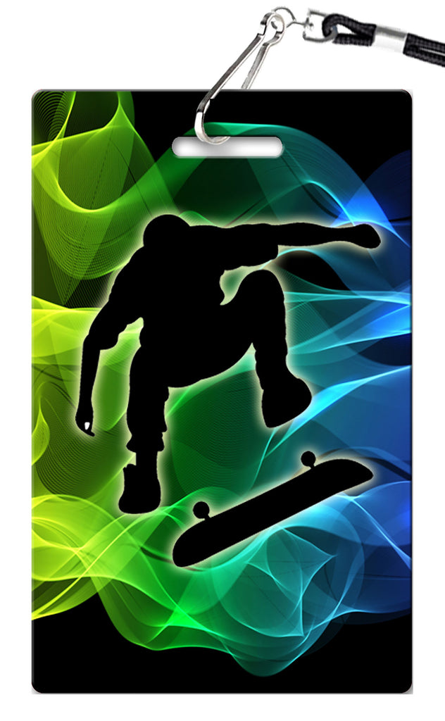 Skateboard Birthday Invitation