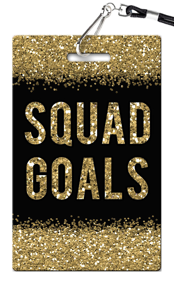 Squad Goals Birthday Invitations
