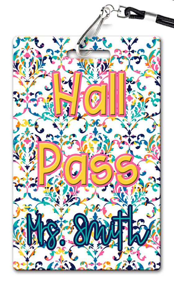 Rainbow Hall Passes (Set of 10)