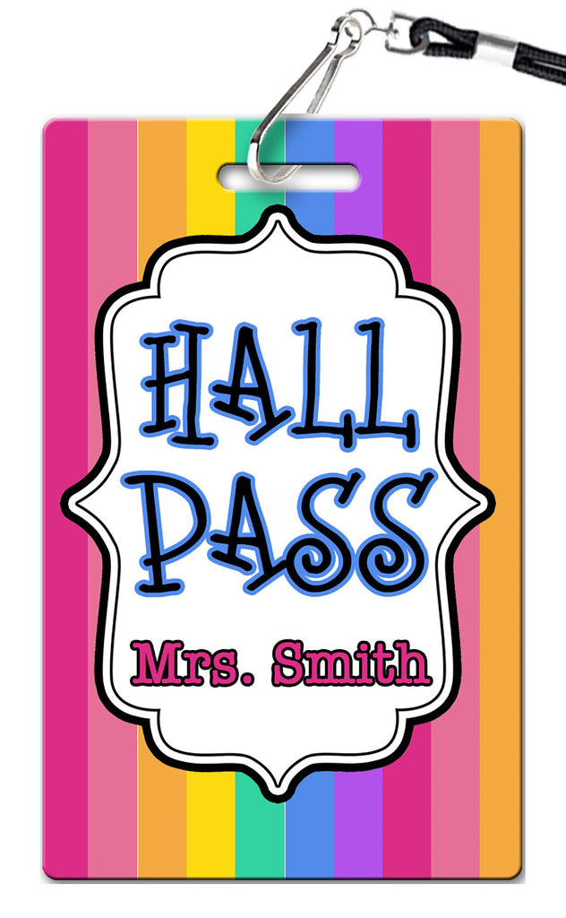 Stripes Hall Passes (Set of 10)