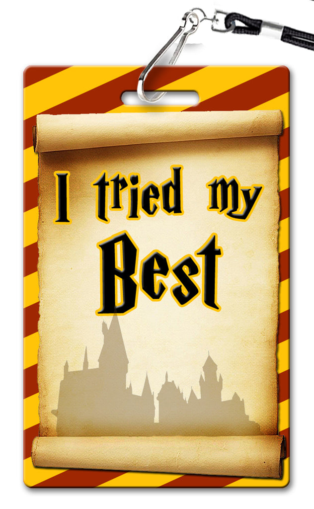 Harry Potter Theme Brag Tags (Set of 8)