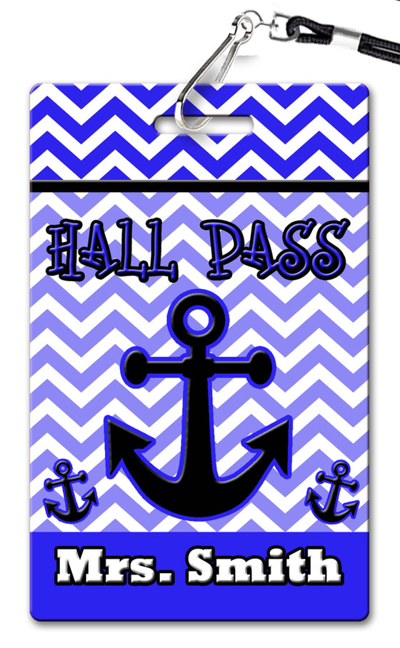 Anchor Theme Hall Passes (Set of 10)