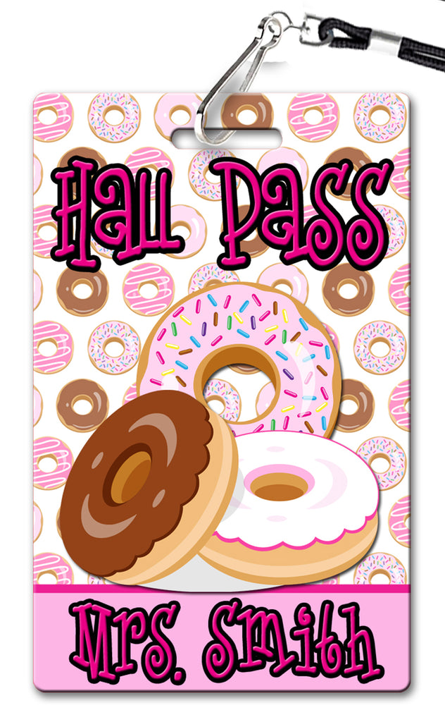 Donuts Hall Passes (Set of 10)
