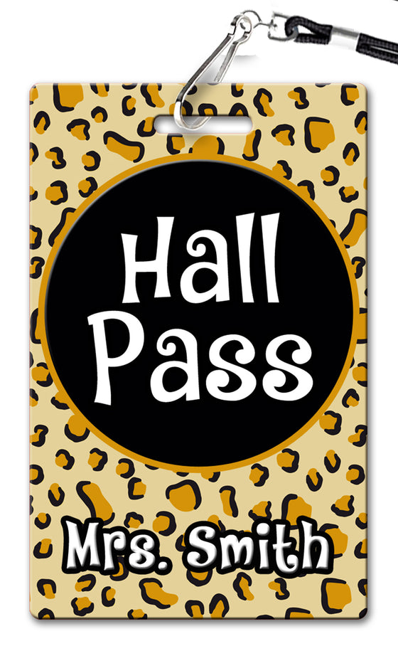 Leopard Hall Passes (Set of 10)