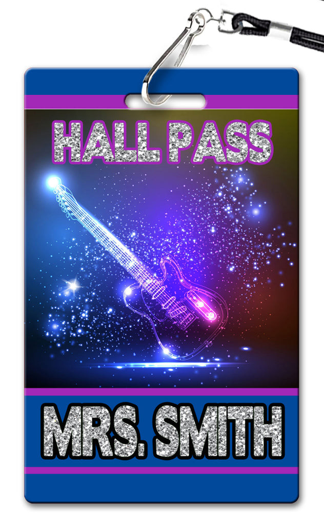 Rock Star Hall Passes (Set of 10)