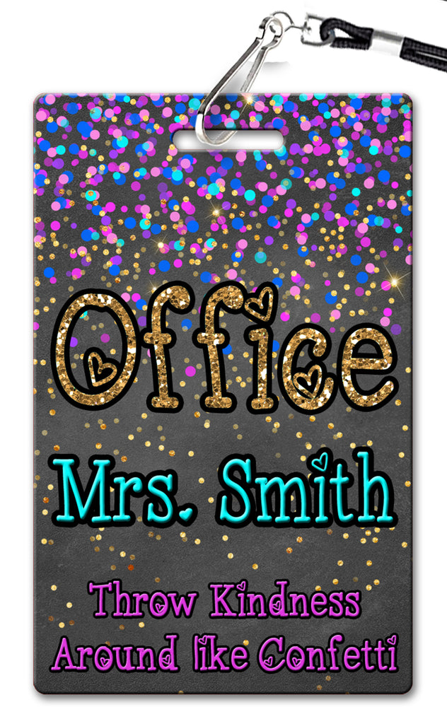 Confetti Hall Passes (Set of 10)