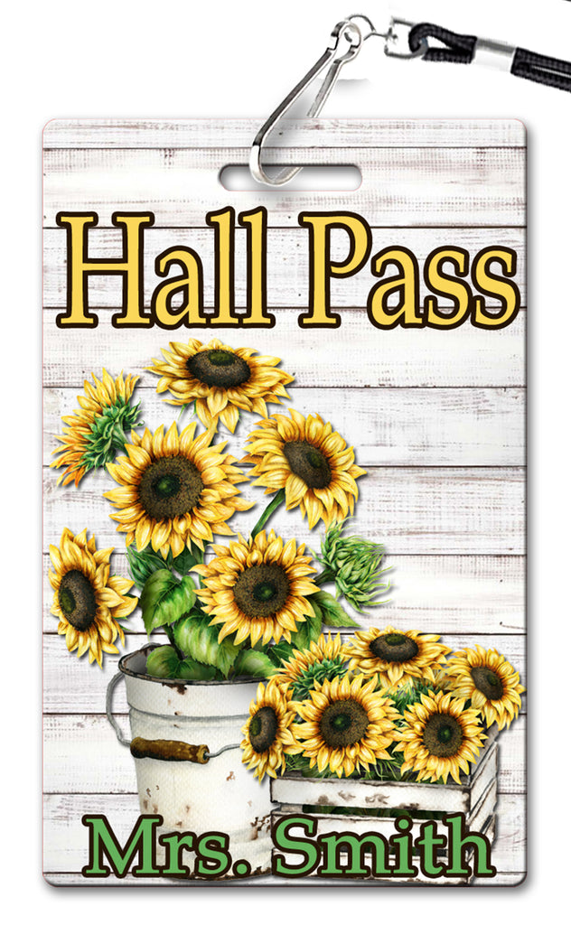 Sunflower Hall Passes (Set of 10)