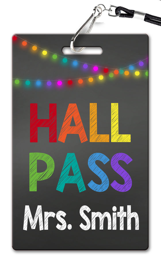 Glow Lights Hall Passes (Set of 10)