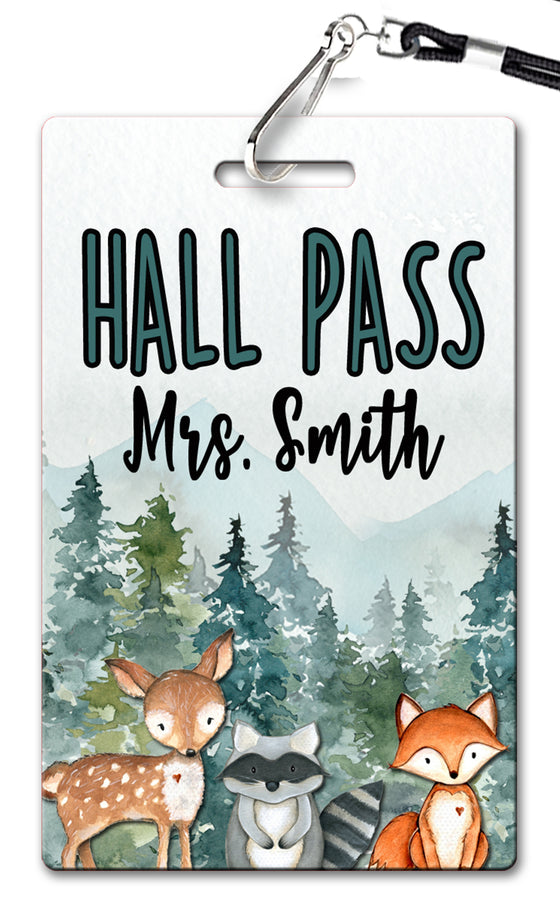 Fox and Friends Theme Hall Passes (Set of 10)