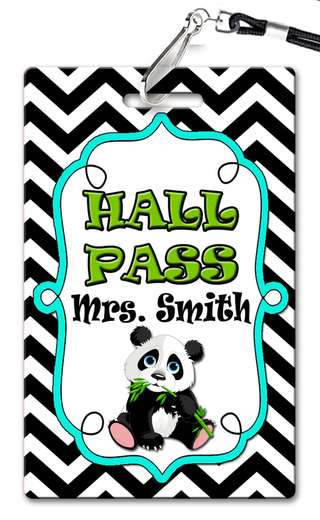 Panda Hall Passes (Set of 10)
