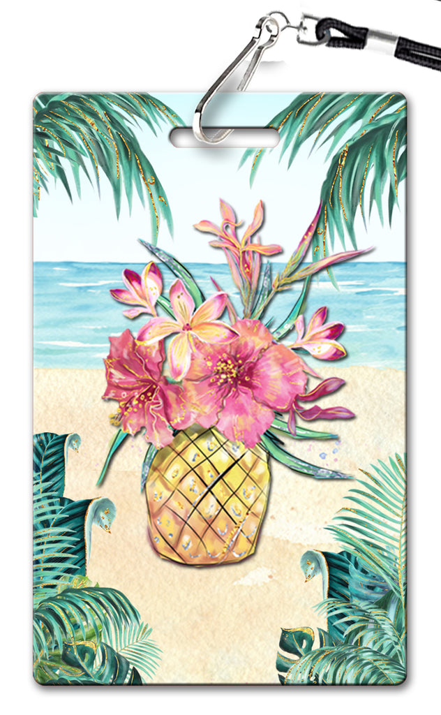 Tropical Getaway Birthday Invitation