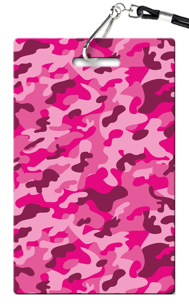 Camo (Pink) Birthday Invitation