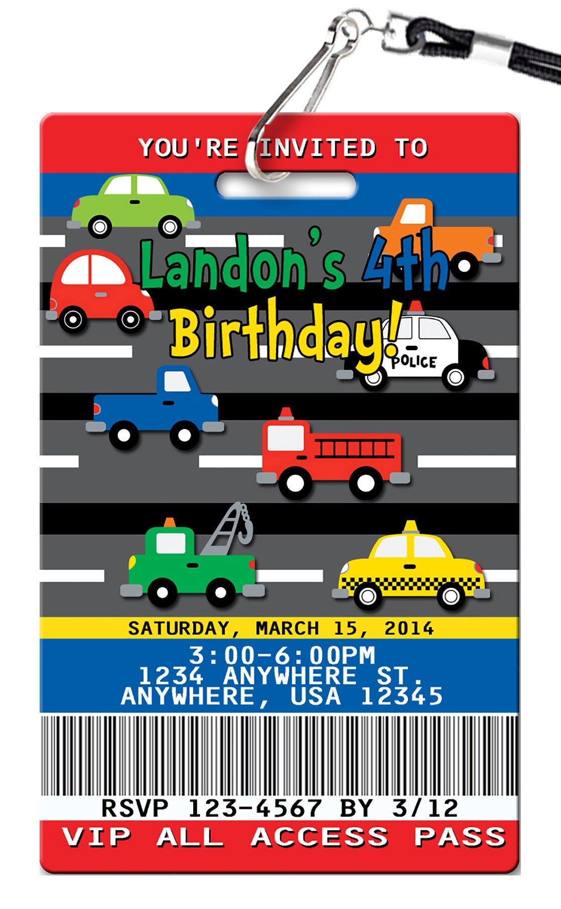 Cars birthday invitations pvc invites vip birthday invitations cars birthday invitation filmwisefo